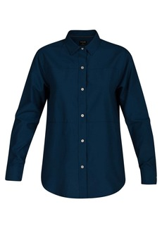 Hurley Junior's Plaid Collared Long Sleeve Button Down Shirt  M