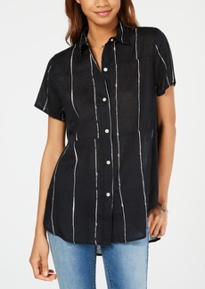 Hurley Juniors' Striped Shirt