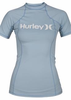 Hurley Junior's Sun Shirt Rashguard SPF 50+ Protection