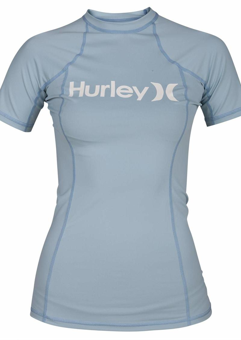 Hurley Junior's Sun Shirt Rashguard SPF 50+ Protection
