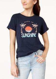 Hurley Juniors' Sunshine Cotton Graphic T-Shirt