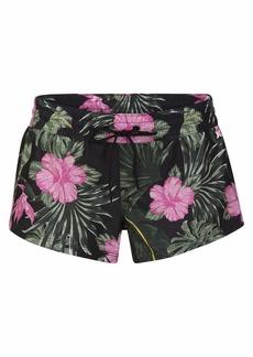 Hurley Junior's Supersuede 2.5 Inch Floral Printed Board Swim Short  XS