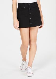 Hurley Juniors' Wilson Cotton Mini Skirt