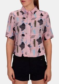 Hurley Juniors' Wilson Free Set Printed Shirt