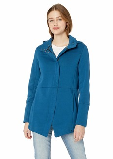 Hurley Junior's Winchester Hoodie Asymmetrical Full Zip Fleece  S