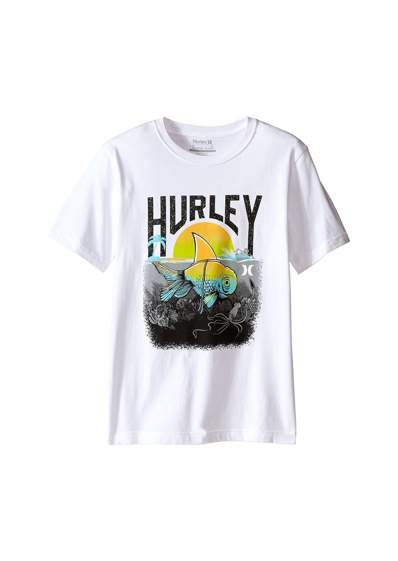 Hurley Kids Great White Tee (Big Kids)