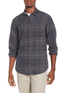 Hurley Kurt Plaid Button-Up Flannel Shirt