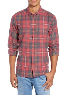 Hurley Kurt Plaid Flannel Shirt