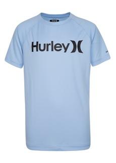Hurley Little Boys Dri-fit Logo Rash Guard