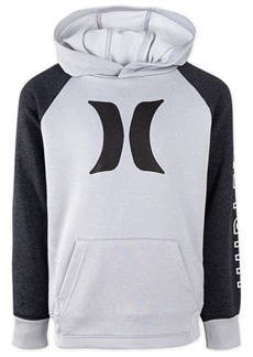 Hurley Little Boys Dri-fit Solar Icon Graphic Hoodie