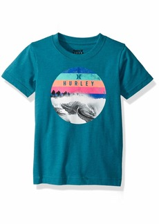 Hurley Little Boys' Geo Graphic T-Shirt