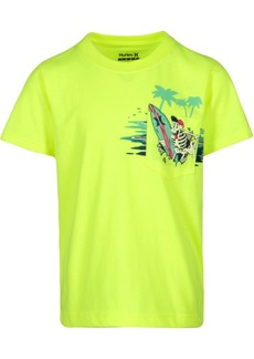 Hurley Little Boys Rad Pocket Graphic Cotton T-Shirt