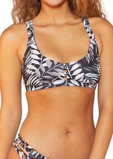 Hurley Max Party Palm Bikini Top