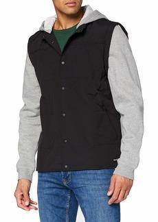 Hurley Men's Ace Trucker Hooded Sweatshirt Jacket  M