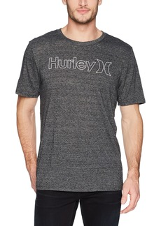 Hurley Men's Tri-Blend One and Only Outline Premium Short Sleeve Tee Shirt