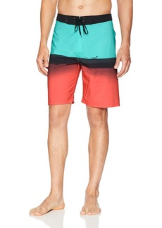 "Hurley Men's Apparel Phantom Stretch Printed 20"" Boardshort Swim Short"