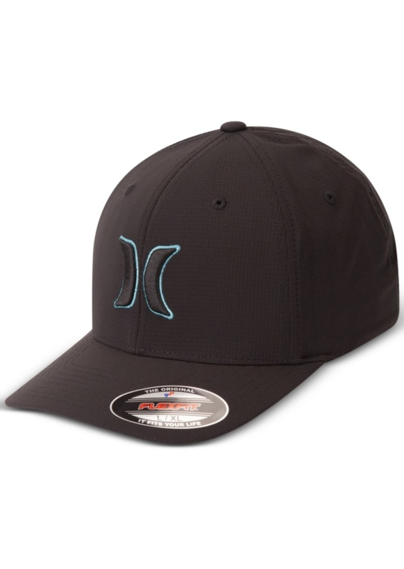 reputable site 53dda f1a78 Hurley Men s Black Suits Outline Embroidered-Logo Hat