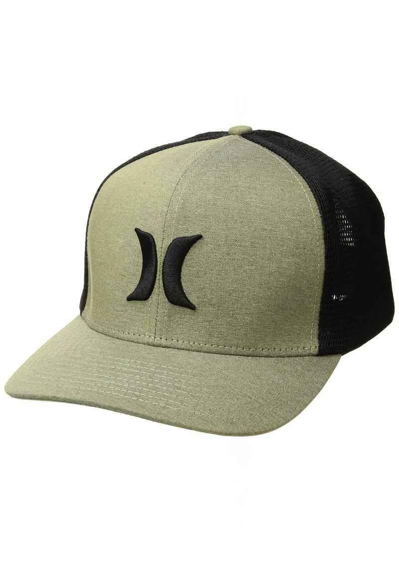 Hurley Men's Black Textures Baseball Cap Buff Gold S-M