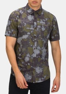 Hurley Men's Bleach Daze Printed Shirt