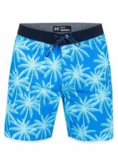 "Hurley Men's Phantom 9 Palms 18"" Boardshorts"