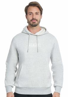 Hurley Men's Boxed Logo Fleece Pullover Hoodie