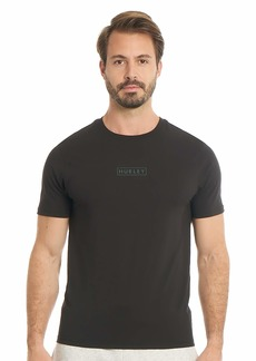 Hurley Men's Boxed Logo Graphic T-Shirt  Extra Large