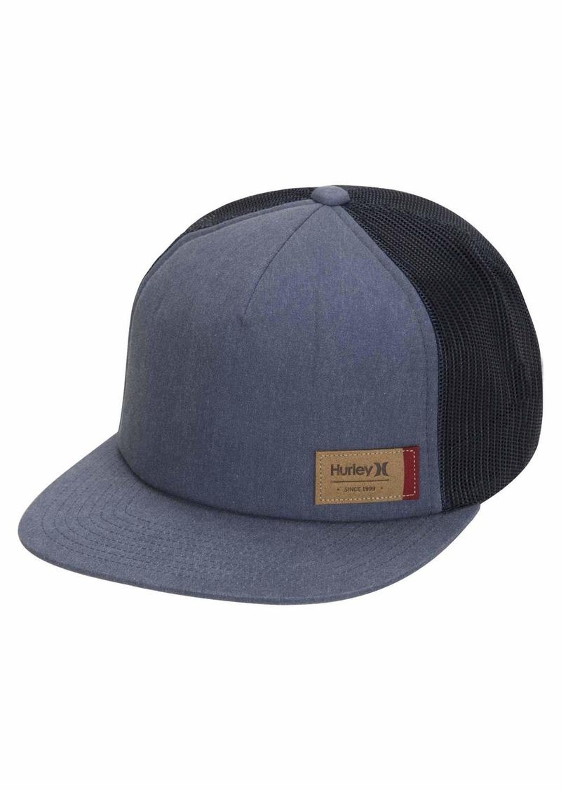 Hurley Men's Cardiff Patch Snapback Baseball Cap
