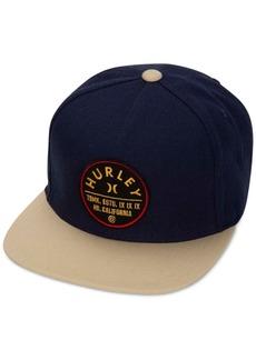 Hurley Men's Colorblock Logo Union Baseball Cap
