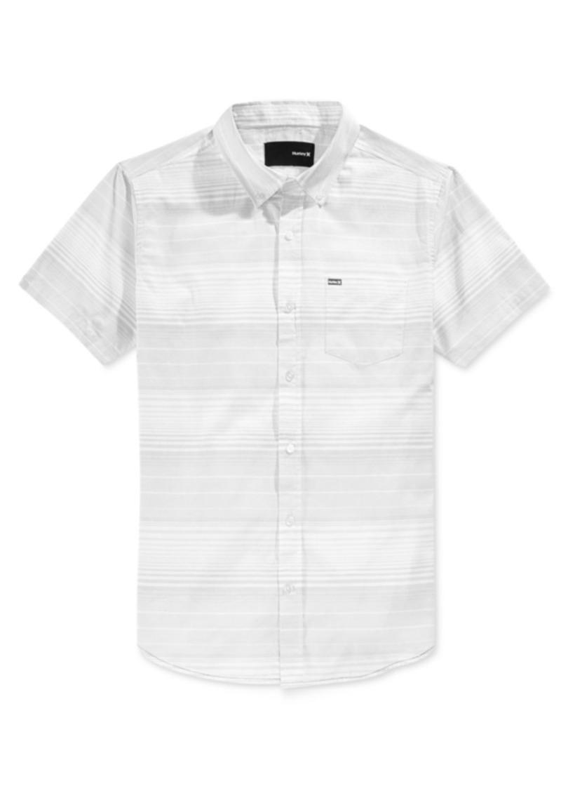 Hurley Men's Comrade Striped Short-Sleeve Shirt
