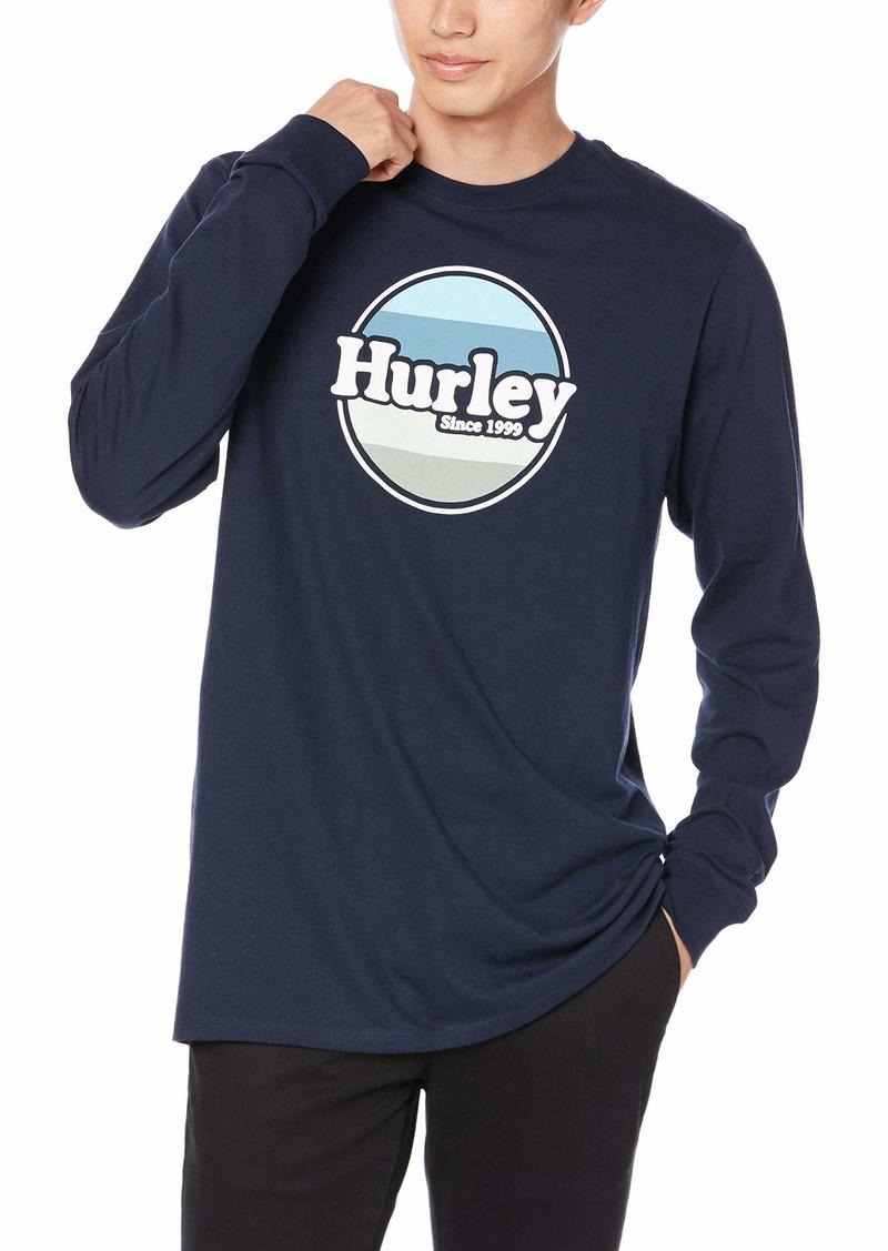 Hurley Men's Core Jammer Long Sleeve Tshirt  XL