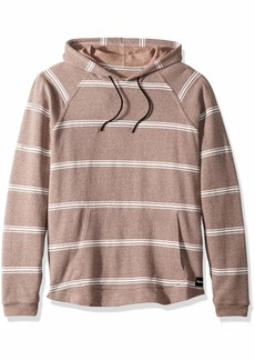 Hurley Men's Crone Marled Textured Pullover Hoodie  S