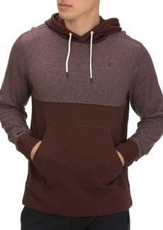 Hurley Men's Crone Textured Colorblock Hoodie