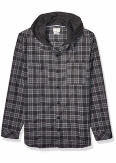Hurley Men's Crowley Washed Hooded Long Sleeve  S