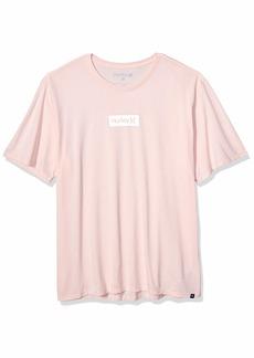 Hurley Men's Dri-Fit Box Logo Short Sleeve Tshirt  M