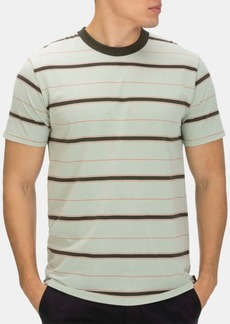 Hurley Men's Dri-fit Harvey Stripe Short Sleeve Tee