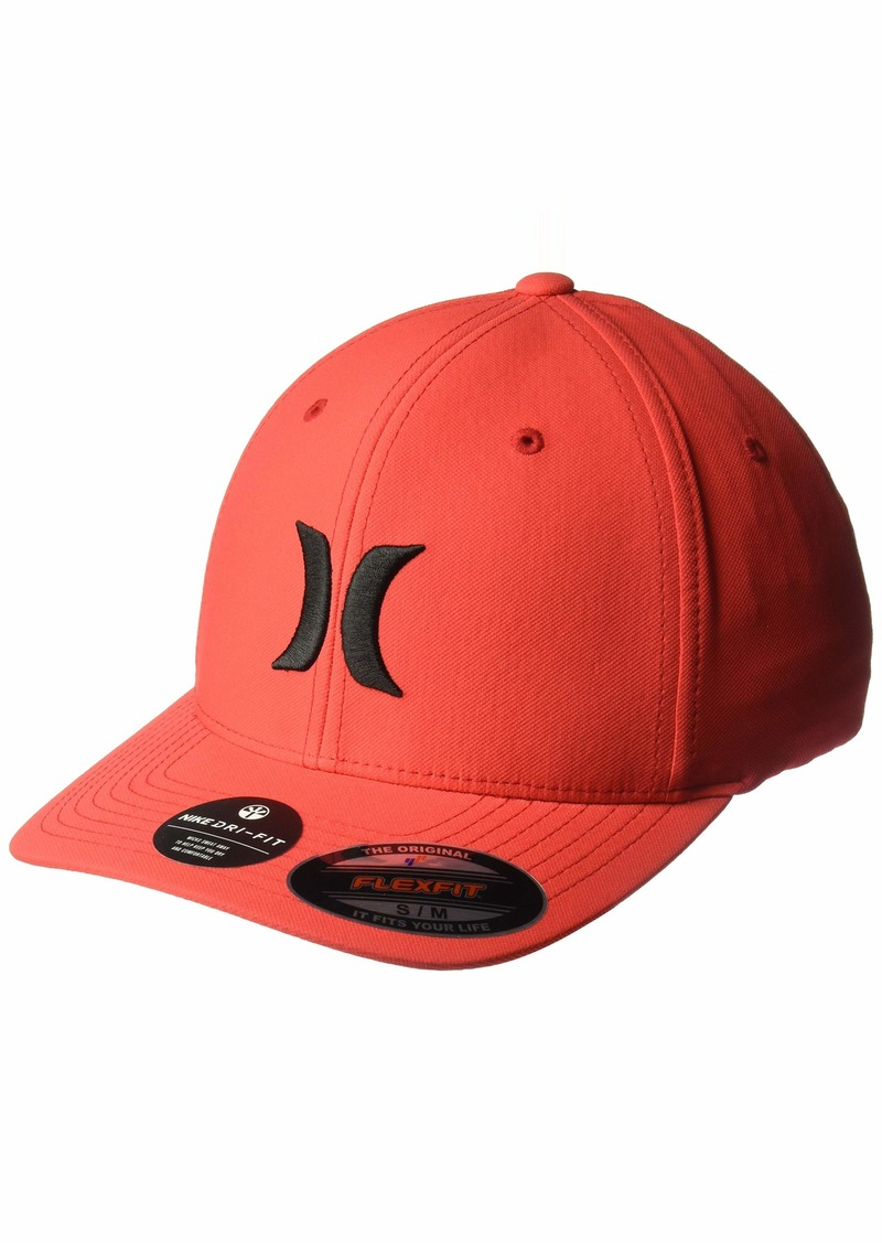 Hurley Men's Dri-Fit One & Only Flexfit Baseball Cap Speed red/(Black) S-M