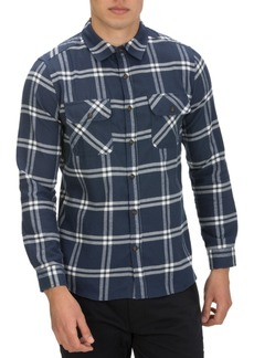 Hurley Men's Dri-Fit Salinger Plaid Long Sleeve Shirt