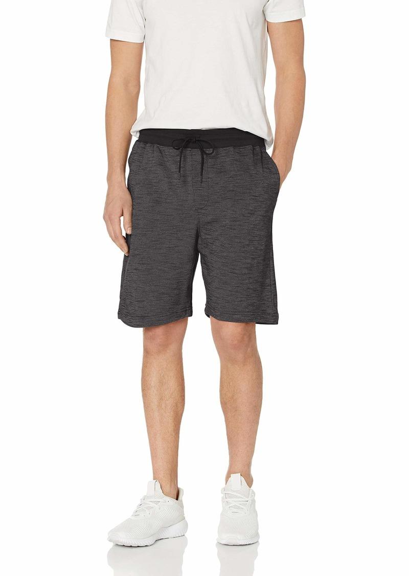 Hurley Men's Elastic Waist Valley Gym Sweat Shorts  L