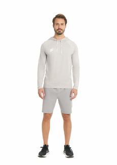 Hurley Men's Exist Collection Space Dyed Hoodie T-Shirt