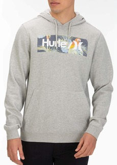 Hurley Men's Floral Box Pullover Fleece Hoodie  XL