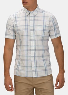 Hurley Men's Frankie Plaid Stretch Button-Down Shirt