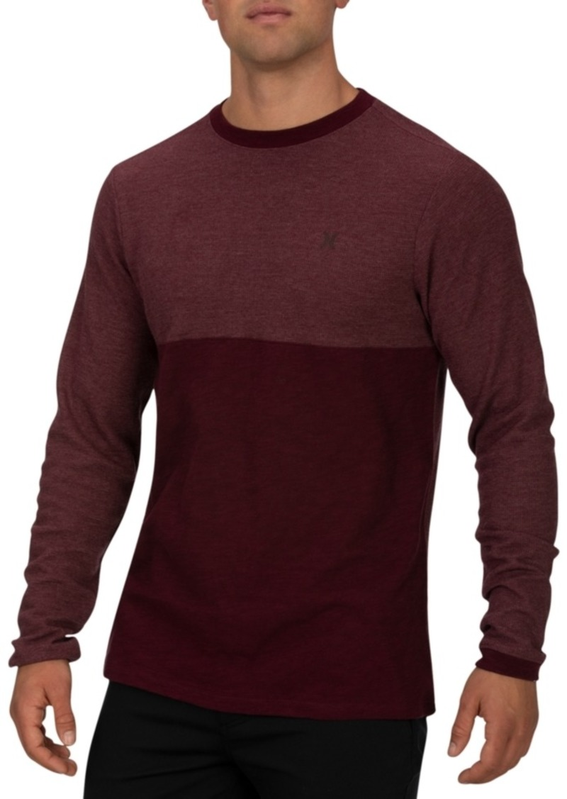 Hurley Men's Harrison Thermal Long Sleeve Shirt