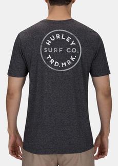 Hurley Men's Hayden Heathered Logo Graphic T-Shirt