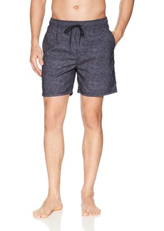 Hurley Men's Heather Textured Volley Swim Board Short  M