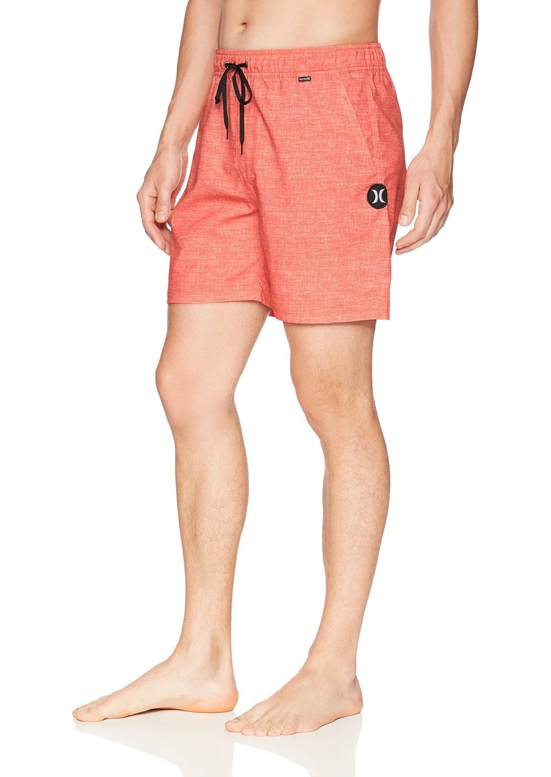 Hurley Men's Heather Textured Volley Swim Board Short  XXL