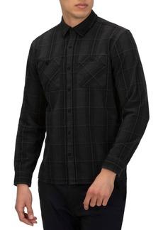 Hurley Men's Hendrick Classic-Fit Plaid Flannel Shirt