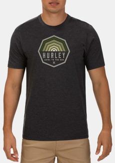 Hurley Men's Hexer Logo Graphic T-Shirt