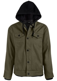 Hurley Men's Hooded Truck Stop Jacket