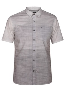 Hurley Men's Hudson Ombre Button-Down Shirt