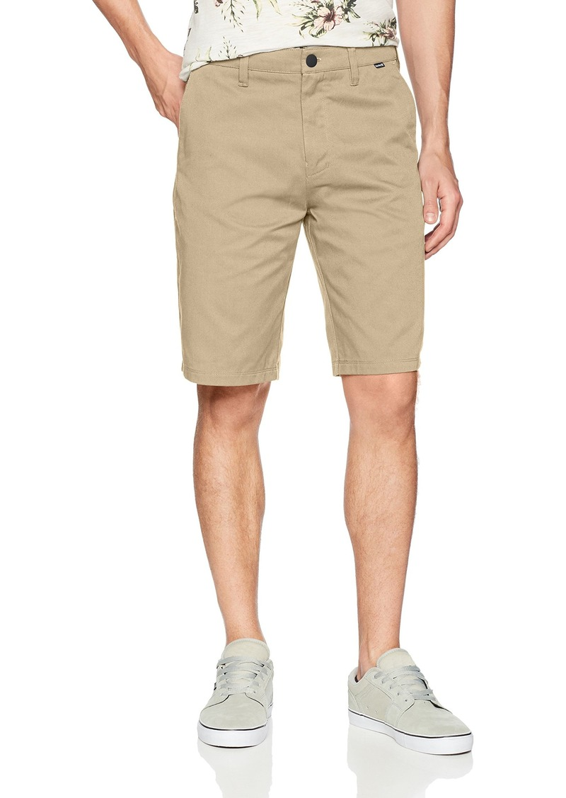 "Hurley Men's Icon Chino Regular Fit 21"" Shorts"